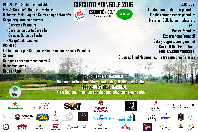Circuito Yoingolf : Club de golf escorpión