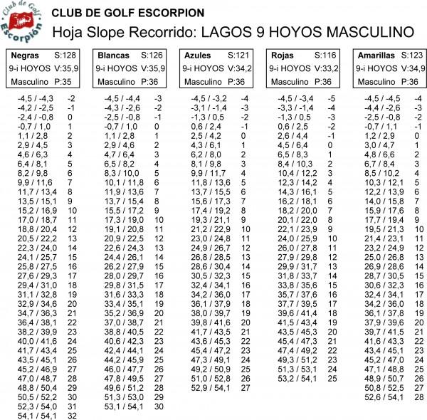 LAGOS 9 HOYOS MASC