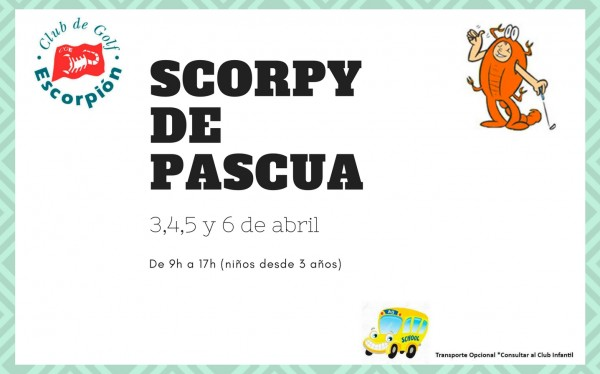 Scorpy de Pascua 2018